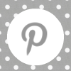 grey white polka dot pinterest social media icon